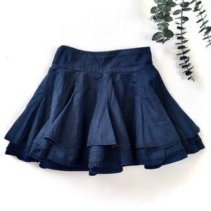 5-6Y H&M Navy Layered Skirt